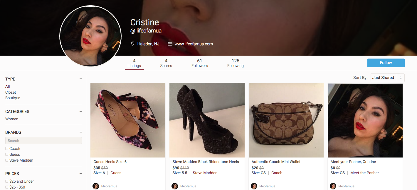 Poshmark – Make $ on Your Closet